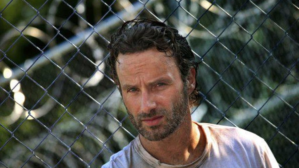 Andrew Lincoln, Rick en 'The walking dead'