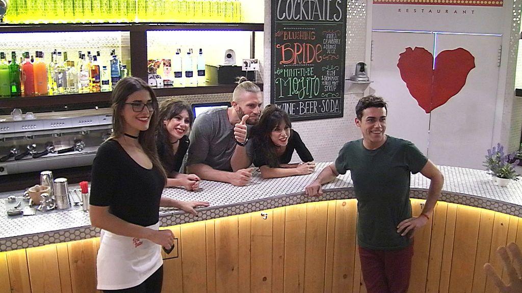 Juanjo, candidato a camarero de 'First dates'