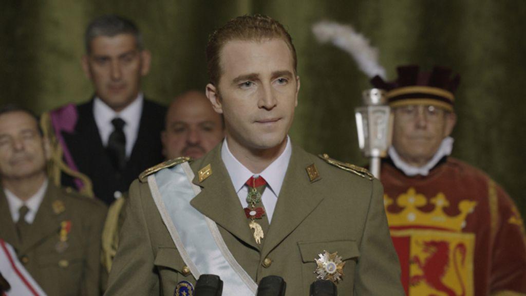 'El rey', el paso de la niñez a la madurez del sucesor de Franco en la jefatura del Estado