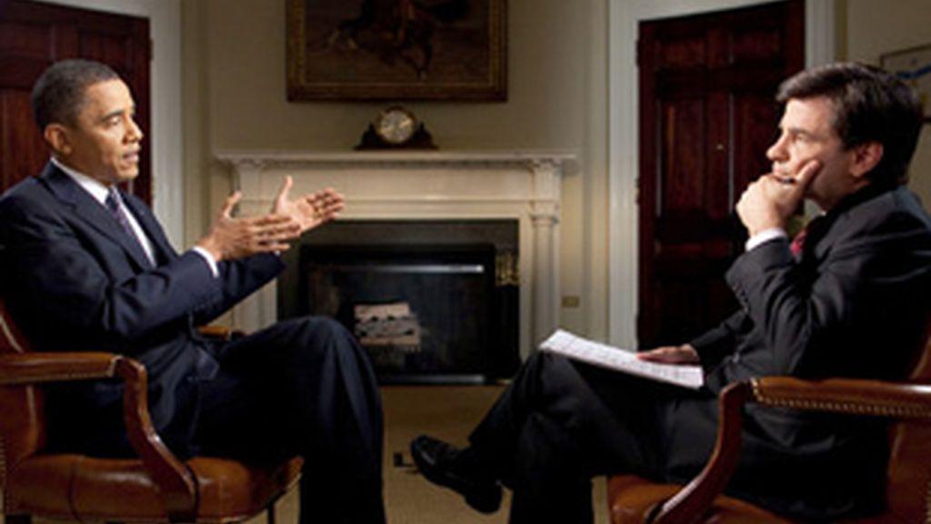 Entrevista a Obama con la que se ha estrenado la alianza entre ABC News y Yahoo!.