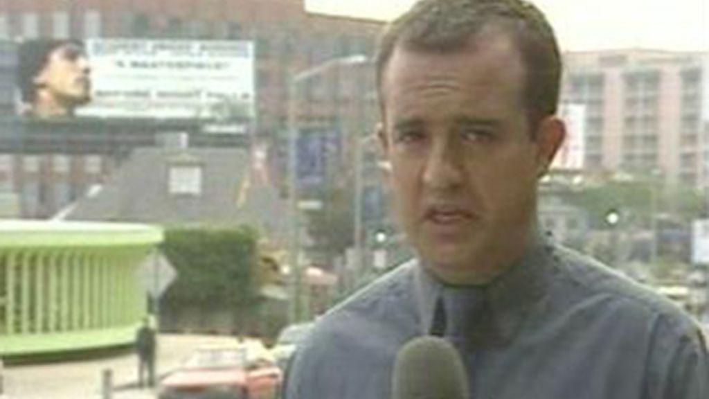 El periodista Ricardo Ortega.
