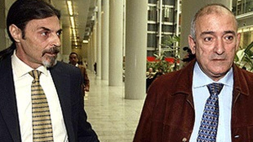 Juan Ignacio Blanco (izquierda) y Fernando García.