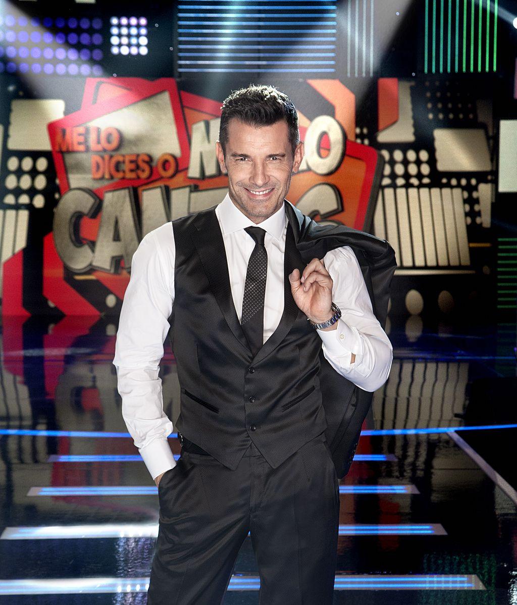 Jesús Vázquez presenta 'Me lo dices o me lo cantas' en Telecinco
