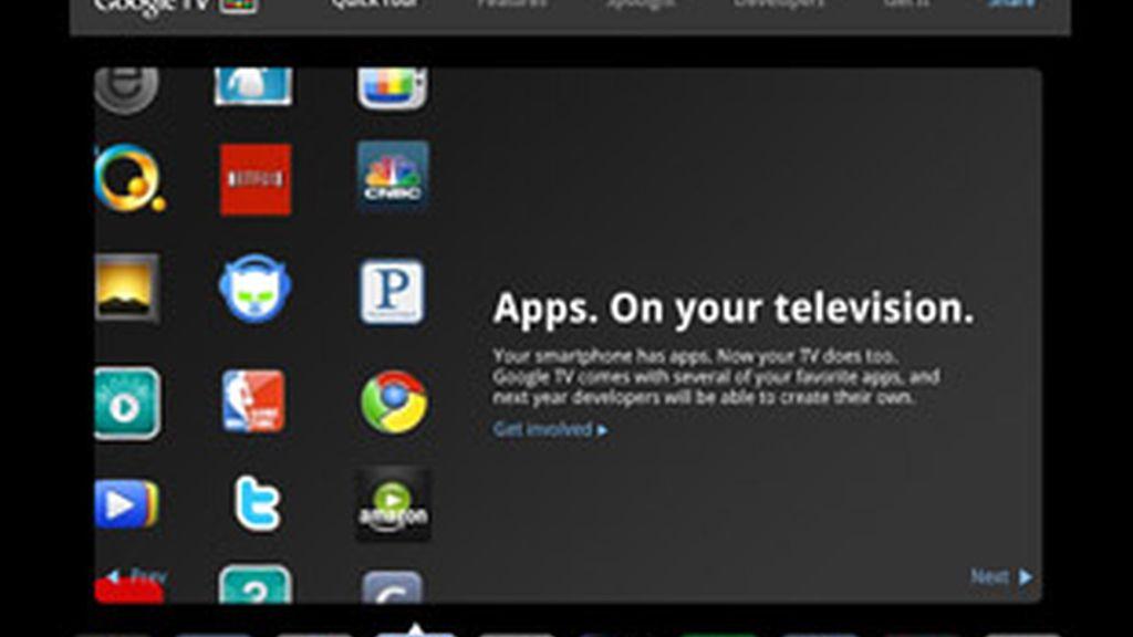 Las 'majors' dan plantón a Google TV