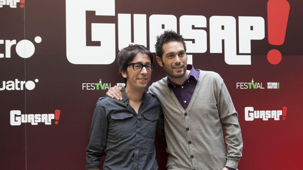 Presentación Guasap! FesTVal. Flipy y Dani Martínez