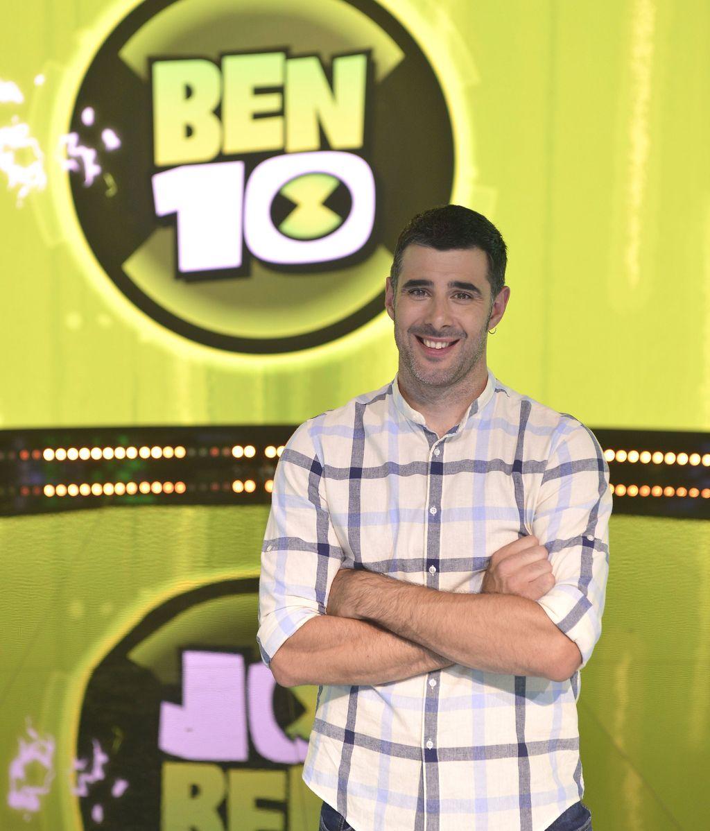 David Amor, presentador del concurso 'Ben 10 challenge' en Boing
