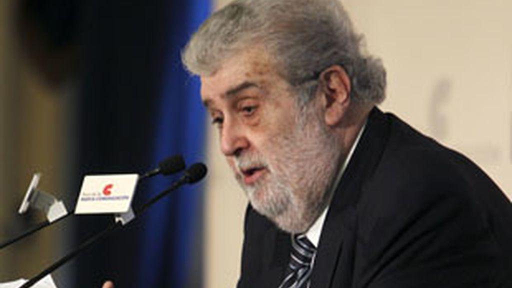 José Manuel Lara, en el Foro de la Nueva Comunicación.