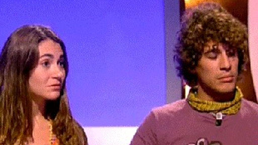 Cyril Jaquet y su novia, ex concursantes de 'La vuelta al mundo en directo', de Antena 3.