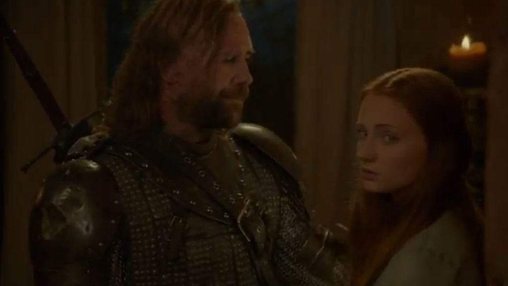 Tyrion libra a Sansa del 'Perro'