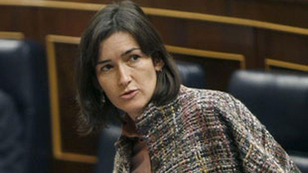 La ministra de Cultura, Ángeles González Sinde.