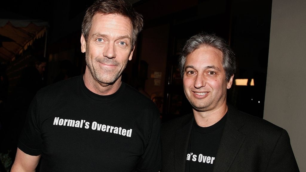 Hugh Laurie y David Shore
