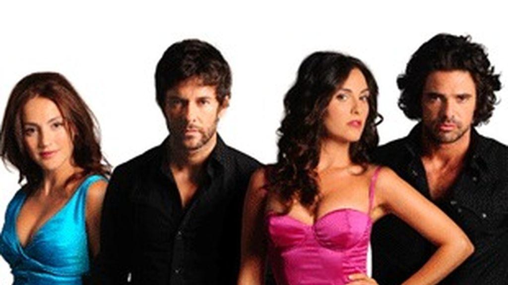 Los actores de la versión original de 'Valientes'.