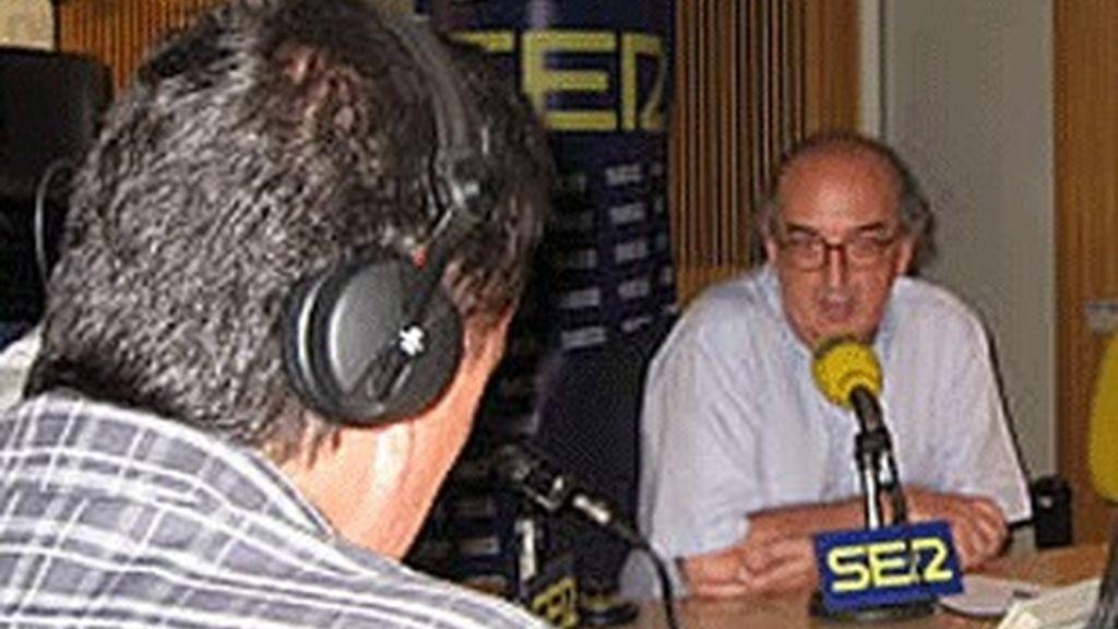 Jaume Roures, en 'El larguero'.