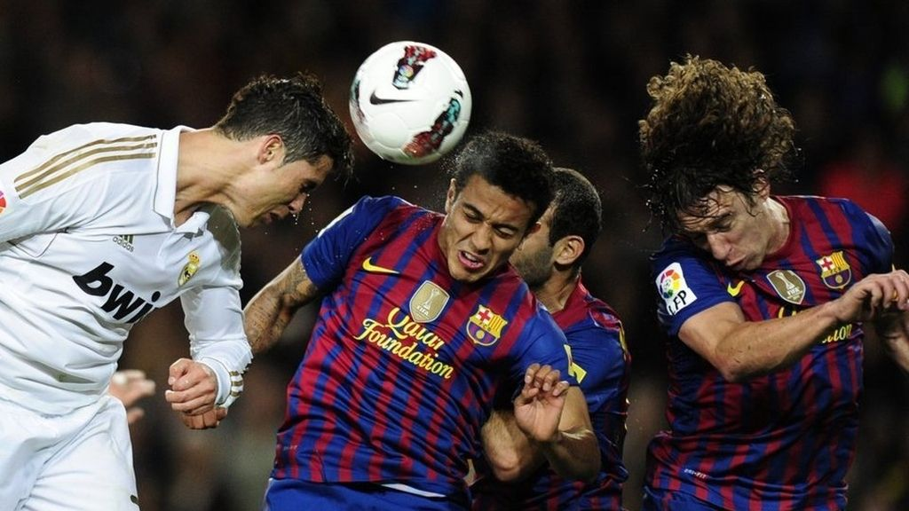 Real Madrid-Barcelona 21/04/2012