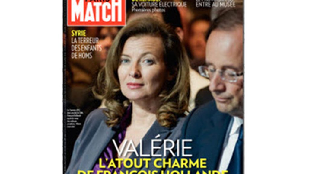 portada 'Paris Match' Hollande