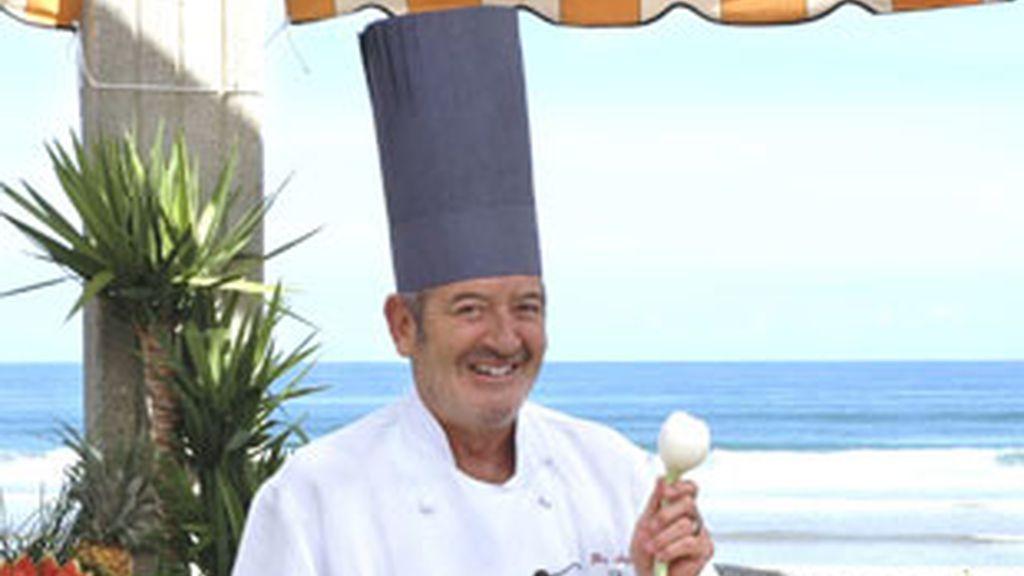 Karlos Arguiñano, cocinero y presentador de 'Karlos Arguiñano en tu cocina' (Telecinco).