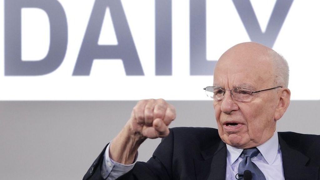 Rupert Murdoch presenta The Daily iPad