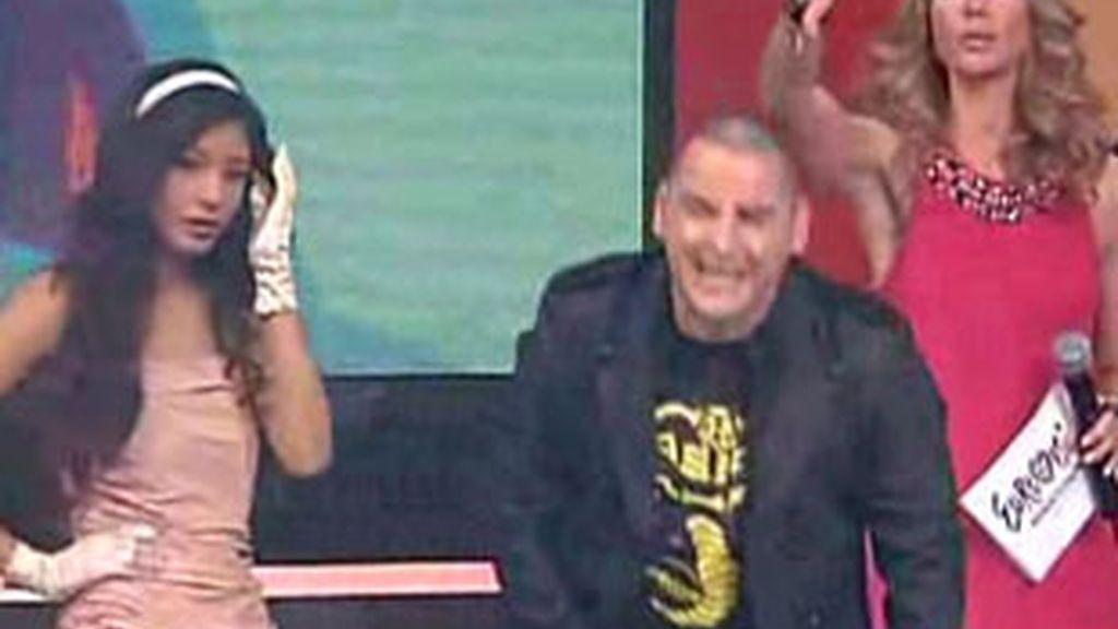 John Cobra, tras ser eliminado en la selección de Eurovisión.