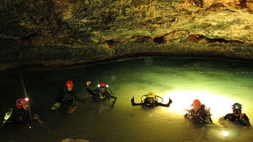 Imagen del sistema subacuático localizado en Mallorca.