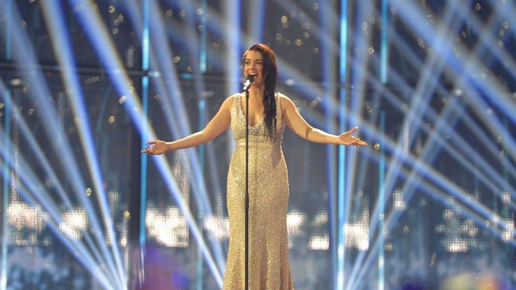 Ruth Lorenzo actuando en Eurovisión 2014