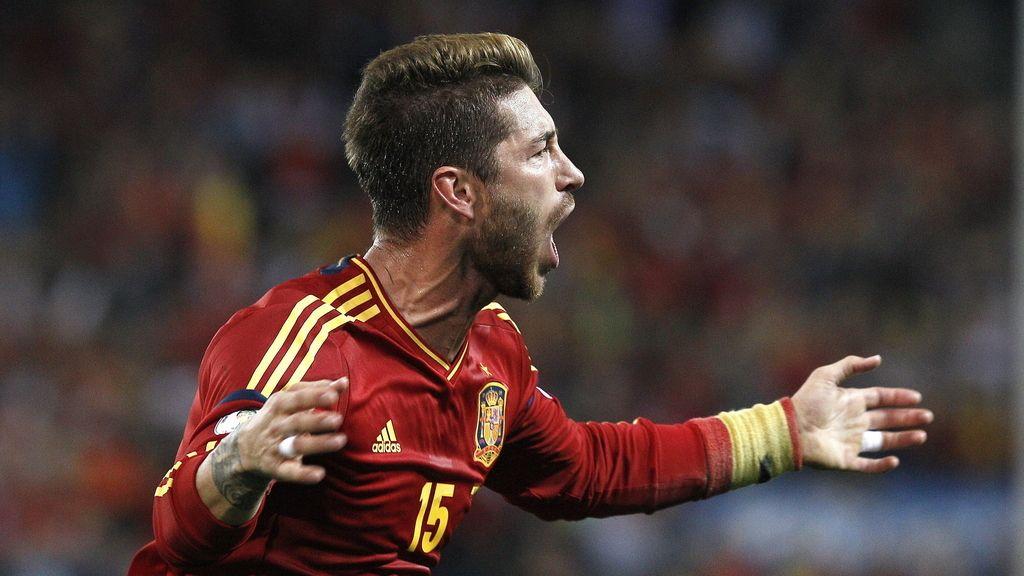 Sergio Ramos gol España-Francia