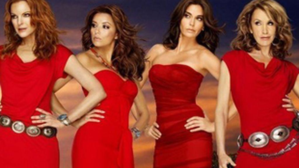 Imagen de las protagonistas de 'Mujeres desesperadas'.