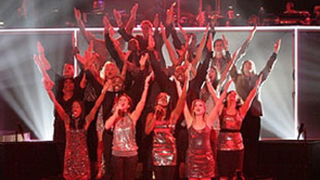 'Clash of the choirs' (NBC).