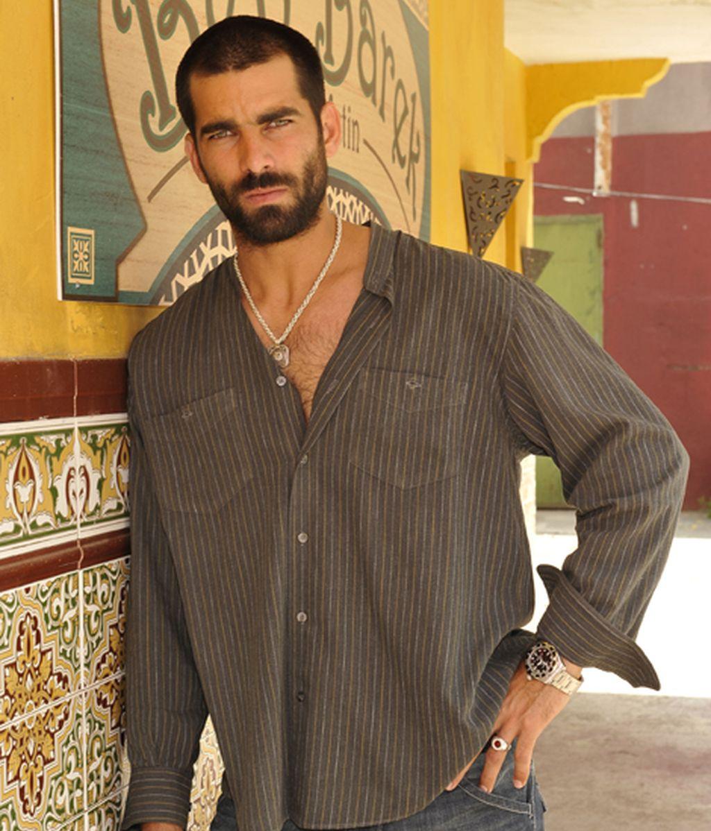 Rubén Cortada es Faruq Ben Barek, narcotraficante y antagonista de Fran