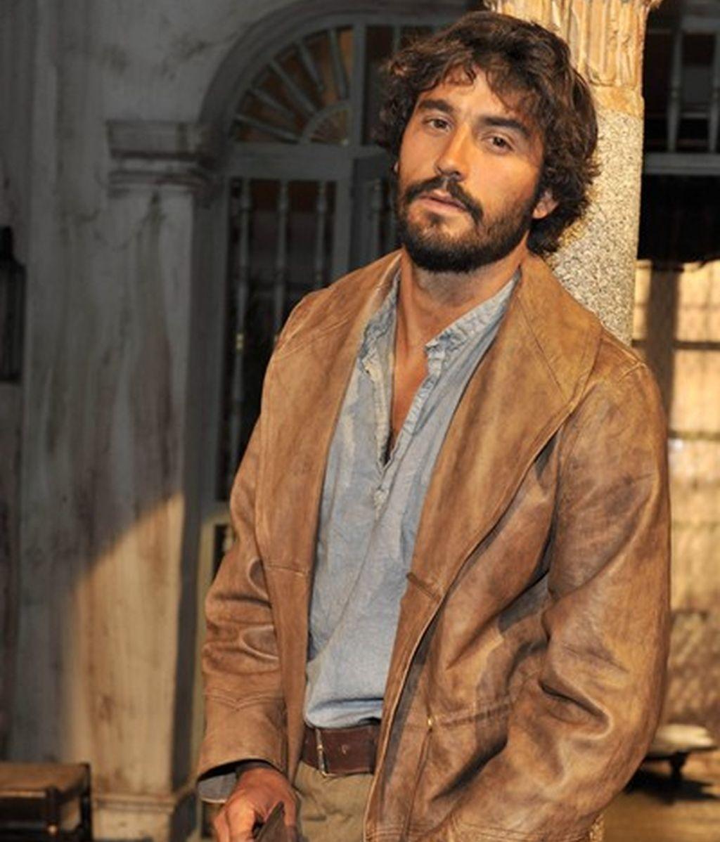 Álex García en 'Tierra de lobos'