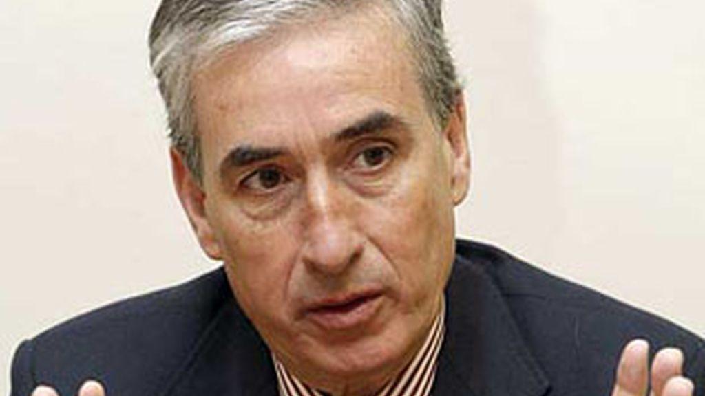 Ramón Jáuregui, ministro de la Presidencia.