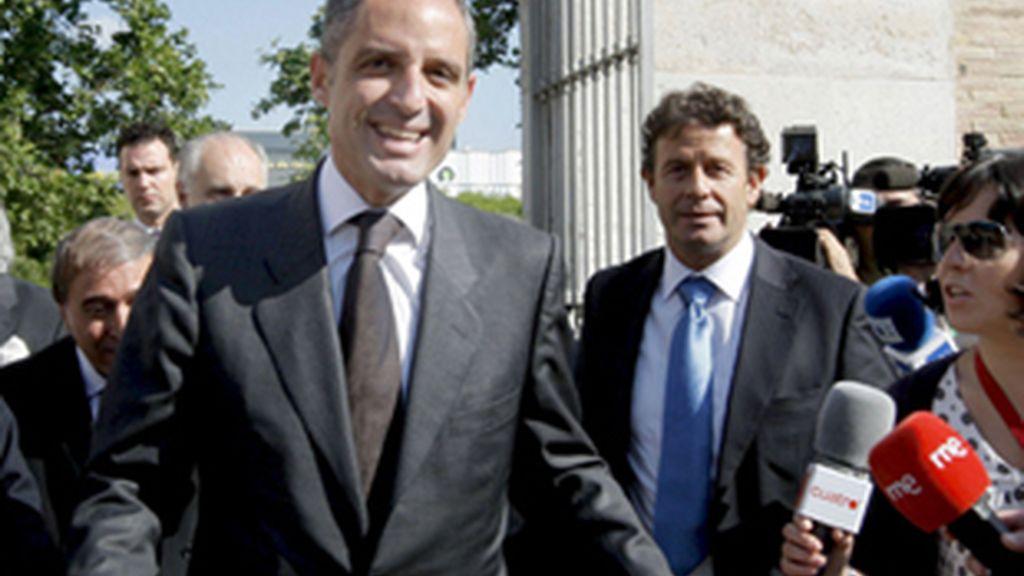El presidente del Partido Popular de la Comunidad Valenciana, Franciso Camps.