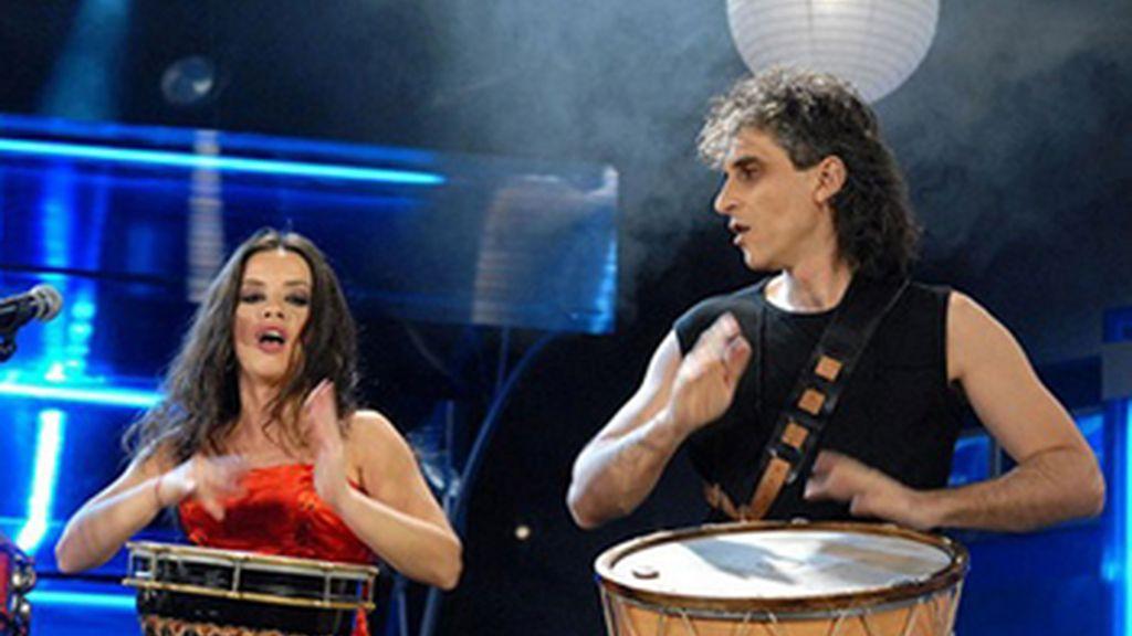 Bulgaria. 'Samo Shampioni'. Elitsa y Stoyan
