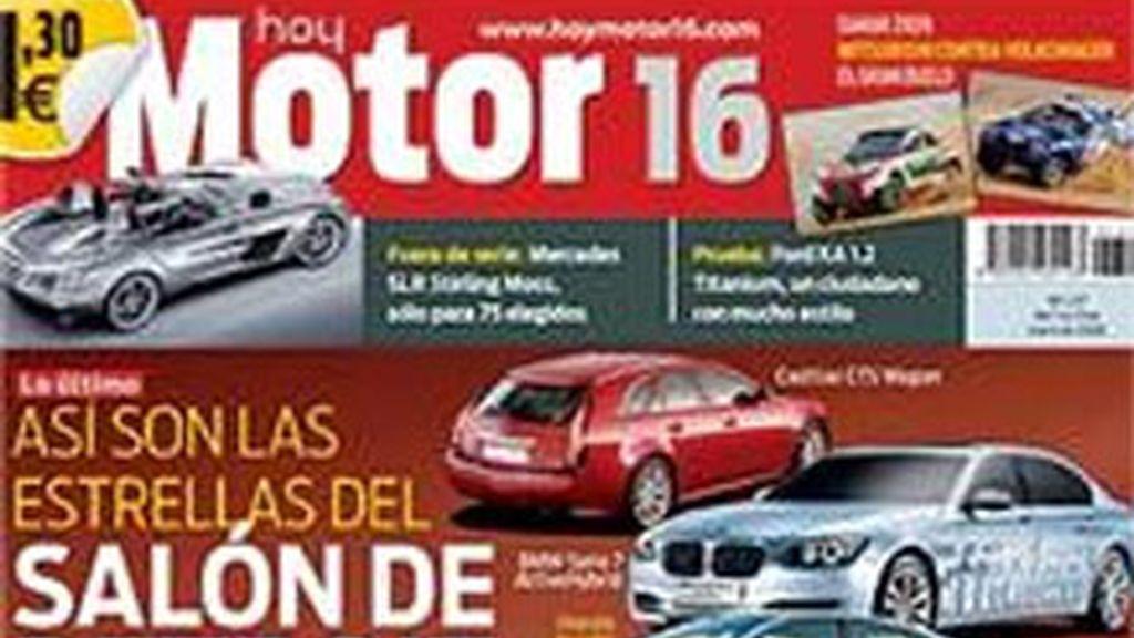 Portada de la revista 'Motor 16'.