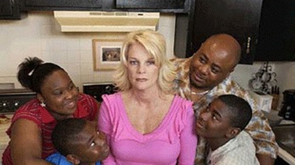 Concursantes de la versión de 'Wife swap' en la estadounidense ABC.