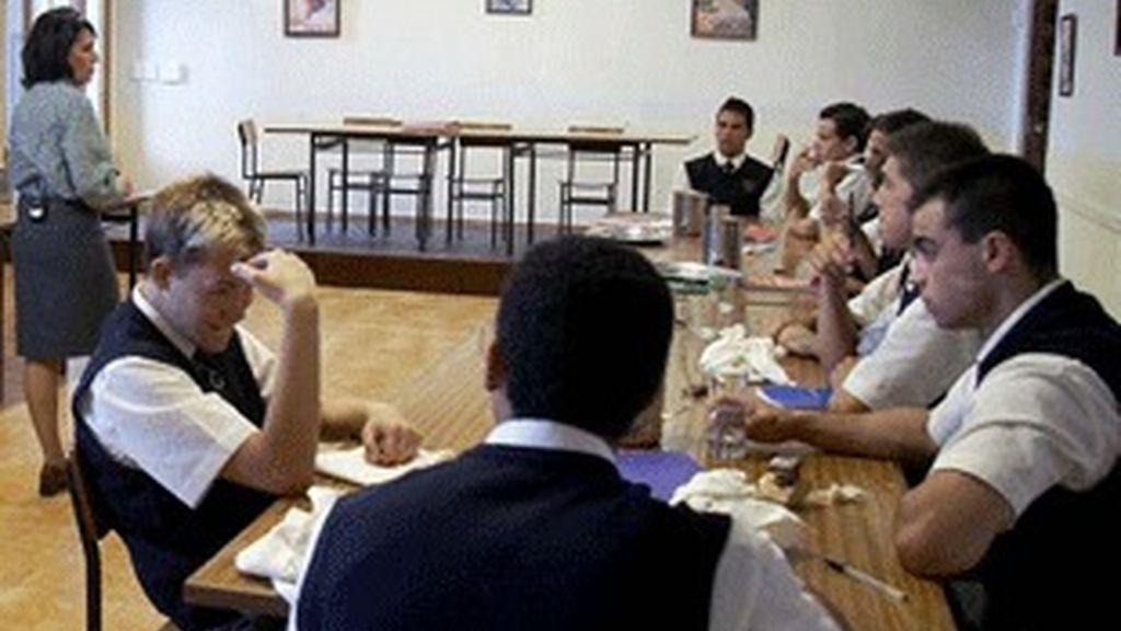 Los alumnos de 'Curso del 63'.