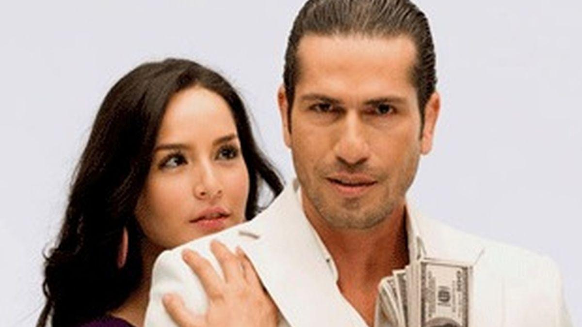 Los protagonistas de la colombiana 'Sin tetas no hay paraíso'.