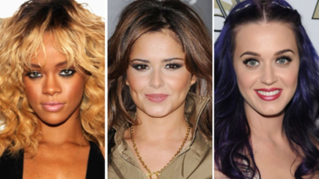 Rihanna, Cheryl Cole y Katy Perry, 'Styled to rock'