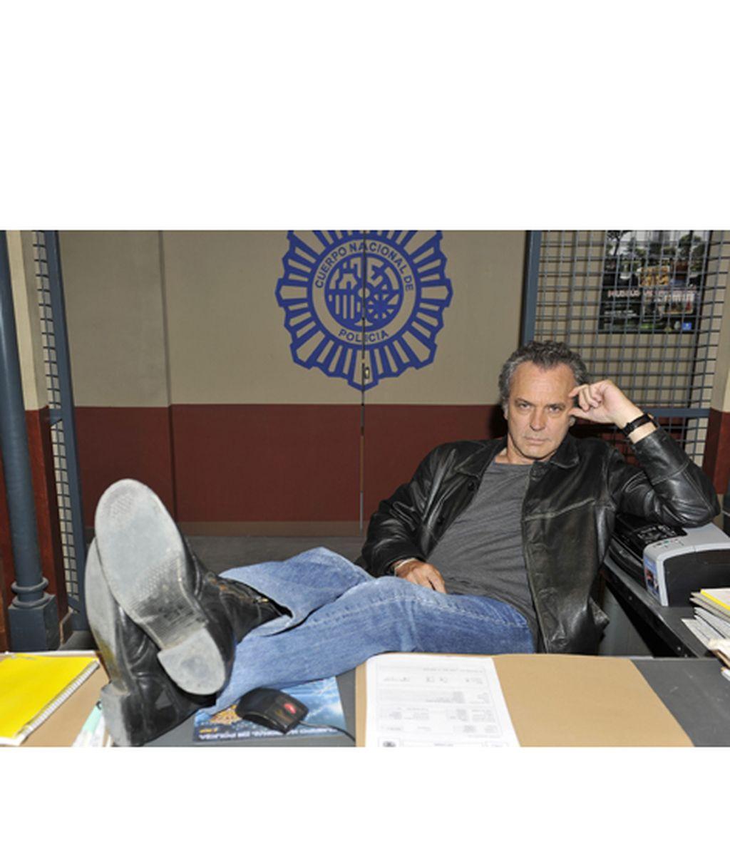 José Coronado es Francisco 'Fran' Marcos, el policía veterano