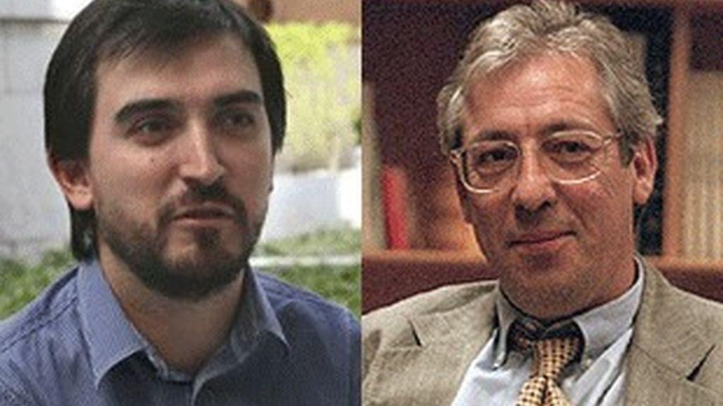 Ignacio Escolar (izquierda) y Félix Monteira.