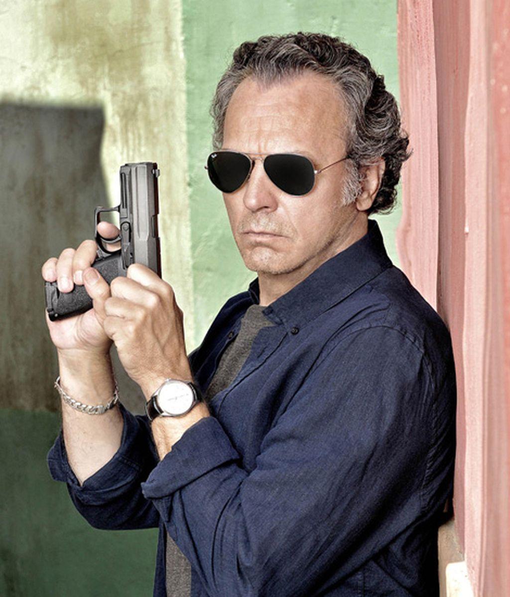 Jose Coronado es Fran Peyón, el policía veterano
