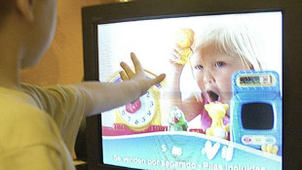 La publicidad en televisión aumenta.
