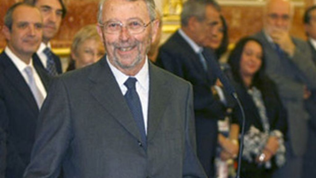 Alberto Oliart, presidente de RTVE.