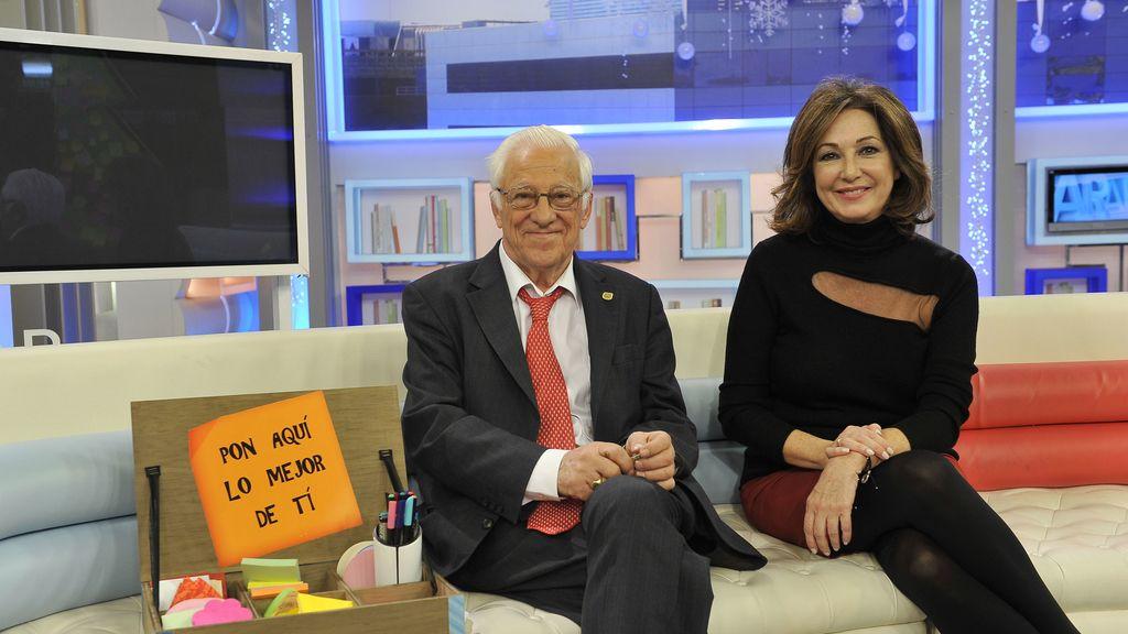 Ana Rosa y el Padre Ángel campaña Quiero dar lo mejor de mí Mediaset España
