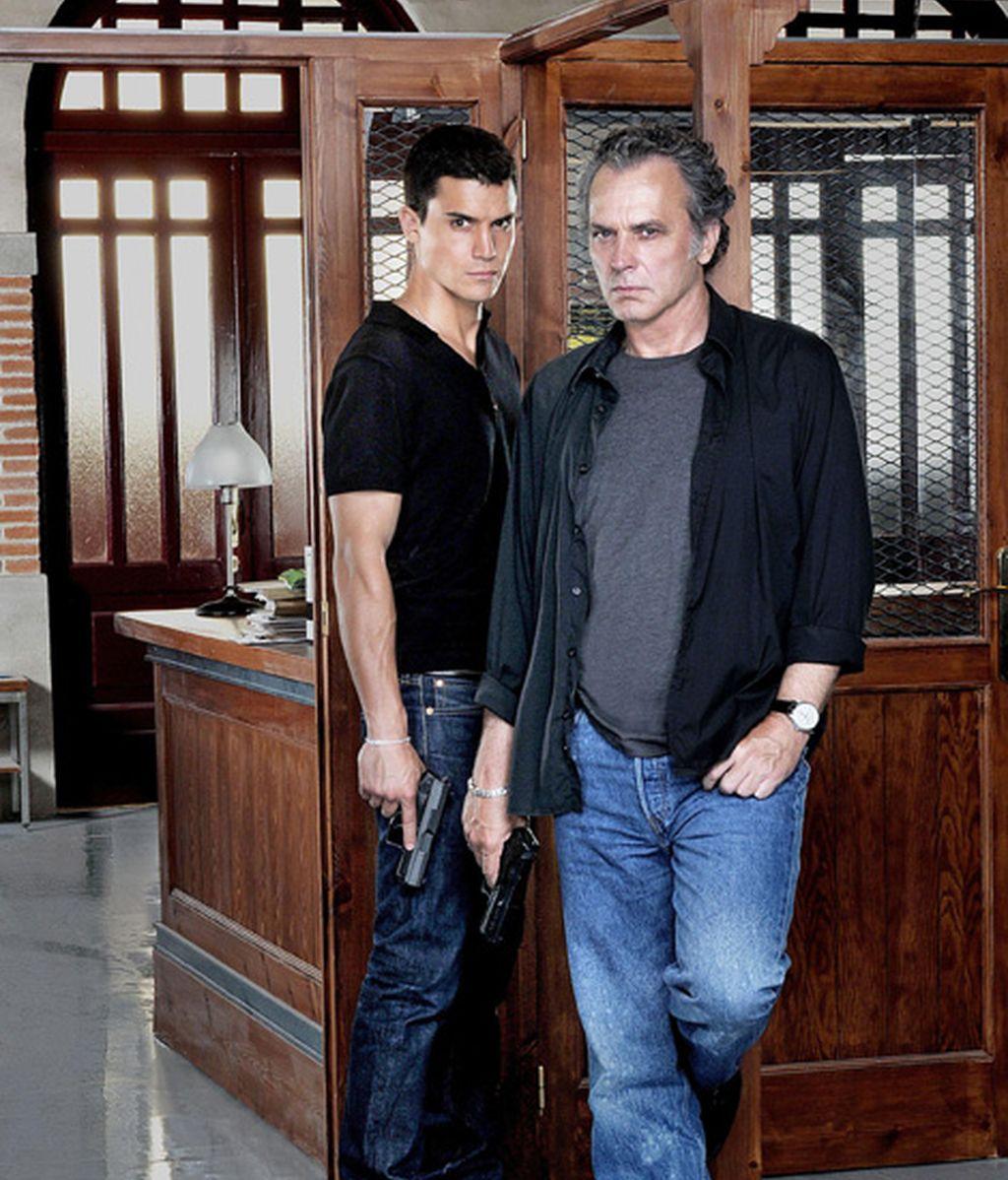 Álex González y Jose Coronado