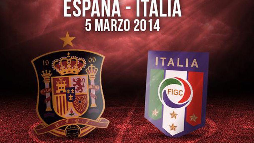 España - Italia a la venta entradas en Taquilla Mediaset