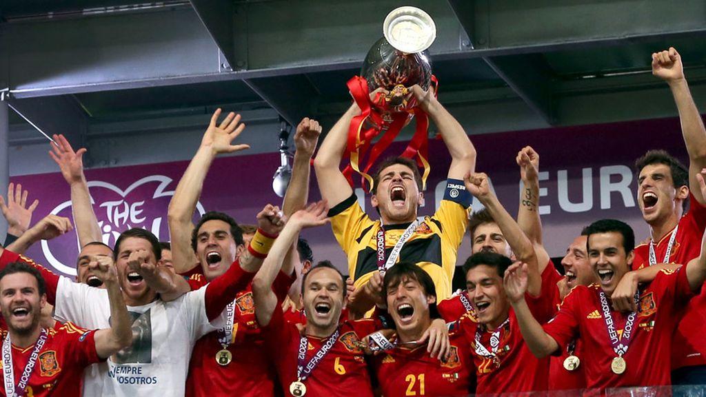 Final Eurocopa. Telemania