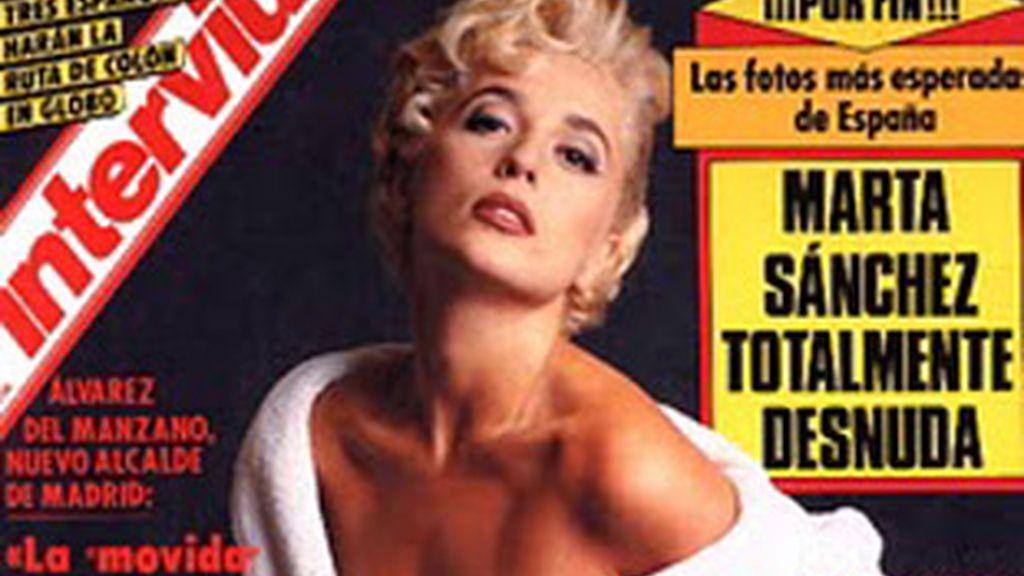La portada de 'Interviú' que ofreció el reportaje de la polémica.