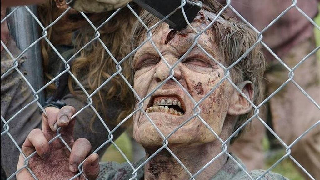 'The walking dead' zombie