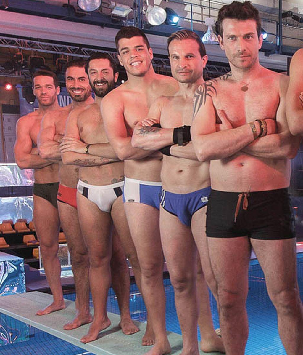 Leo Cámara, Miguel Ángel Nicolás, Rafael Amargo, Sergi Capdevilla, Javier Castillejo y Arturo Requejo