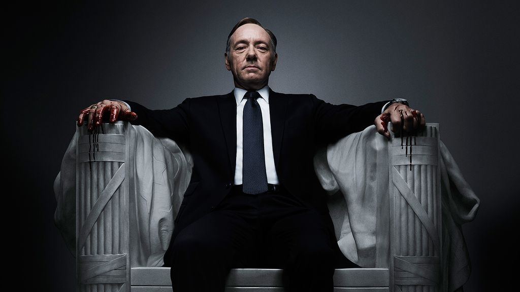 Kevin Spacey, 'House of cards'